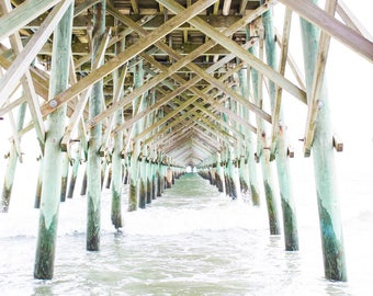 Folly Beach Pier Print