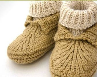 Baby shoes-knitting shoes wool/Alpaca