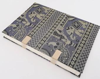 Book binding Coptic Indian sari