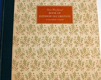 Ladies Home Journal Book of Interior Decoration 1954 Elizabeth T. Halsey midcentury modern vintage design