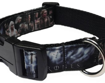 Game of Thrones Personalized Dog Collar