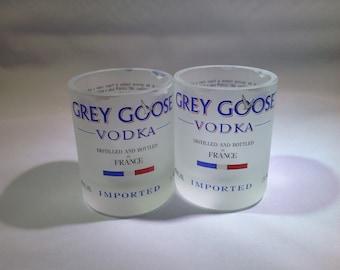 Set of 2 Grey Goose Tumblers