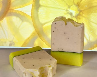 Lemongrass and Clove Handmade Artisan Soap