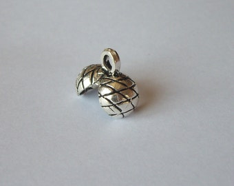 2 Sterling Silver 925 Heavy Duty Jumbo size Clam Shell Knot Cover end cap bead