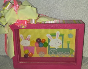 Easter Spring Shadow Box