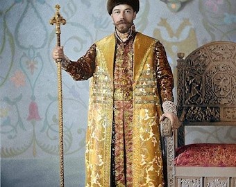 Nicholas II dressed for the Costume Ball of 1903