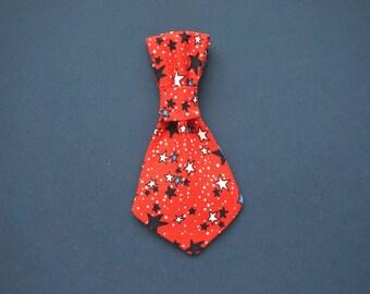 4th of July Mini Dog Tie
