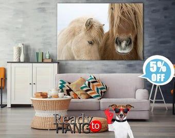 Icelandic horse art, Horse canvas, Icelandic horse canvas, Horse wall art, Animals wall art, Animals canvas, Horse print art, Pony canvas