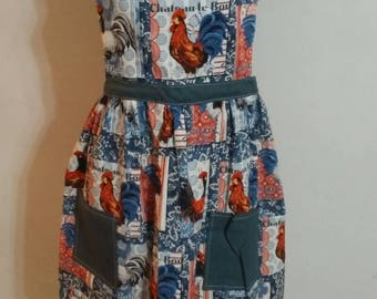 Womens 3x apron with pockets