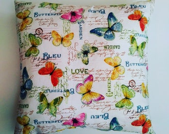 Butterfly Decor Pillow