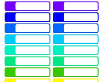Bold Appointment Labels (Erin Condren stickers)