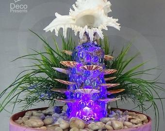 "Indoor fountain with LED illumination ""Caprice"""
