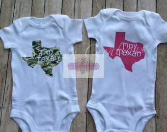 Baby Bodysuit Shower Gift Baby Boy Baby Girl Texas Made