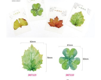 Leaves Post IT Notes Sticky Memo