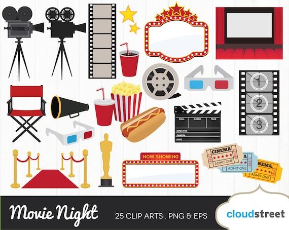 buy 2 get 1 free movie award clipart movie night clipart movie rh etsystudio com free clipart movie tickets free clipart movie popcorn