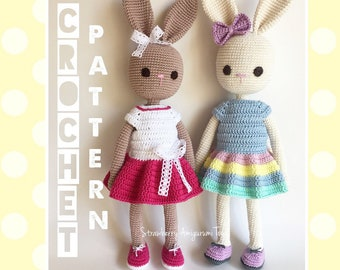 Amigurumi Crochet Bunny in Dress