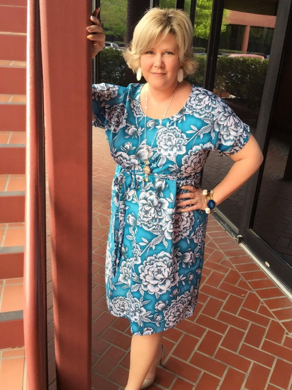 Women\'s Dress PDF sewing pattern cap sleeves sewing