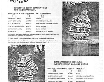 Cowichan Style Sweater #10 PDF Pattern
