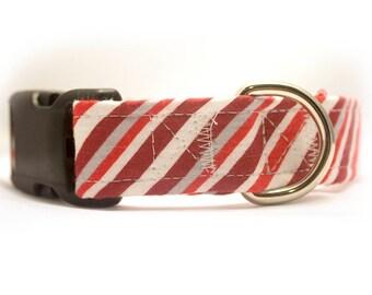 Candy Cane Stripe Collar
