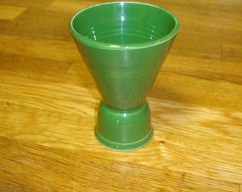 Homer Laughlin Harlequin Forest Green Double Eggcup