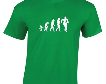 Evolution Rugby Running T-Shirt. Rugby World Cup. Six Nations Canada Cup T-Shirt. Rugby Evolution Shirt. Evolution Rugby Shirt. Rugby Gift.
