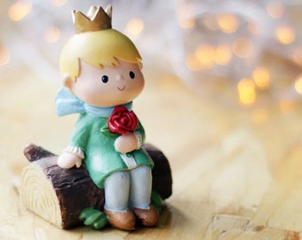 The Little Prince figure D - plant topper, desk / car decoration
