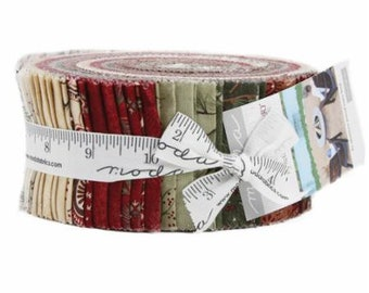 Once Upon a Memory Jelly Roll by Holly Taylor for Moda Fabrics. 6730JR