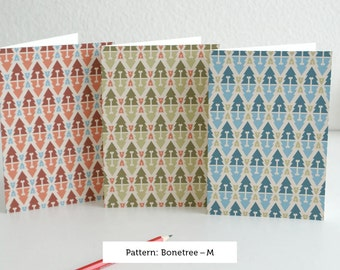 Bonetree card set by pattern