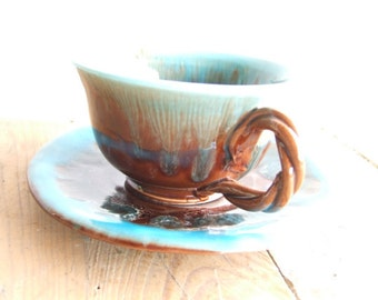 Vallauris Tea Cup. Coffee Cup.