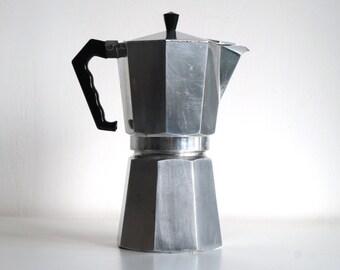 Extra large moka pot Bialetti vintage, Junior Express 18 cups