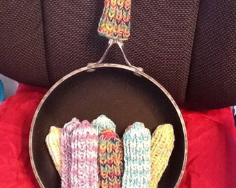 Knitted Pan Handle Cover Pattern