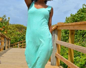The Basic Layering Slip Dress in Organic Hemp Jersey. Made to order.