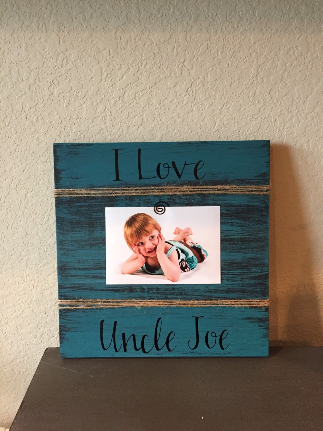 Uncle Brother Gift Personalized picture frame gift gigi
