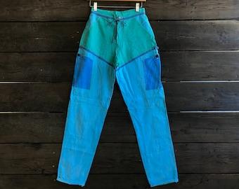 Vintage 80s High Waisted Pants