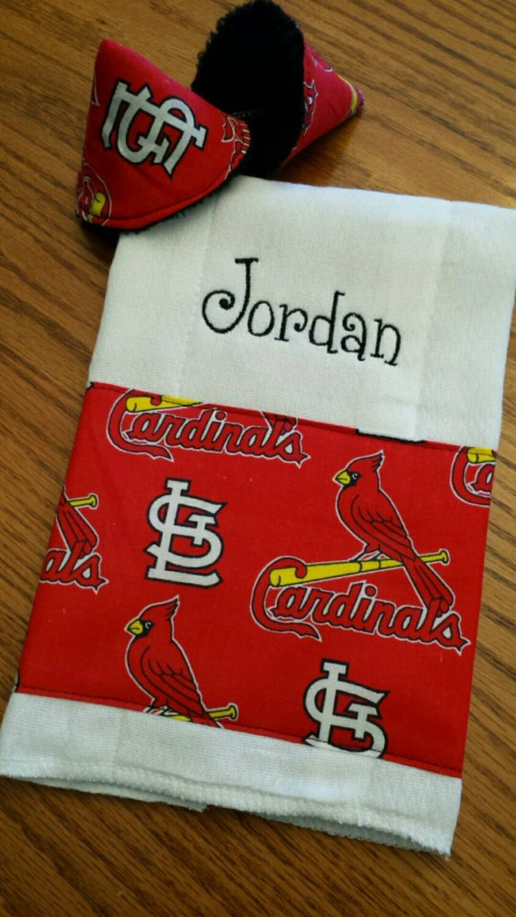Sports theme baby burp cloths personalized baby shower gift negle Choice Image