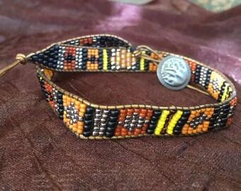 Navajo Style Beaded Bracelet