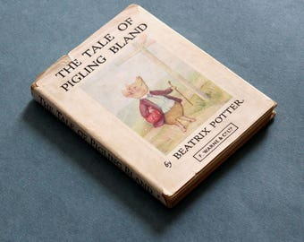 The Tale of Pigling Bland by Beatrix Potter published by F. Warne & Co Ltd