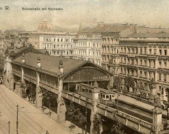 Railway station. Germany, Berlin.