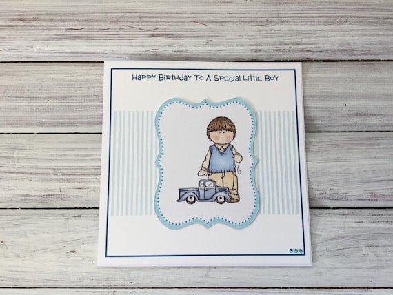 Little Boys Birthday Card