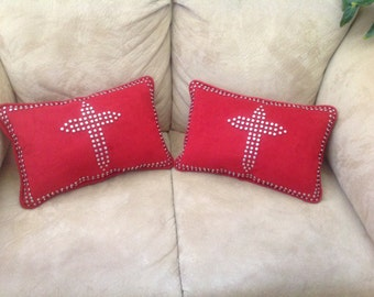 Custom stud pillow