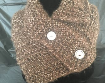 Knitted Collar/caplet