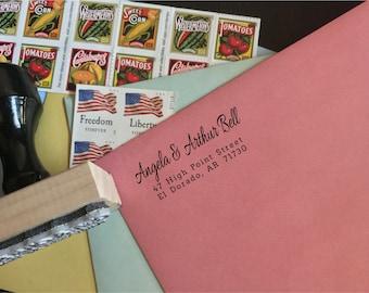 Custom Address Stamp - Type A