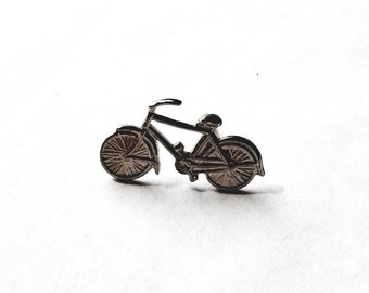 Vintage 1950s Bicycle Pin