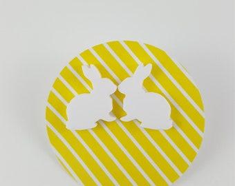 Large Bunny Earrings
