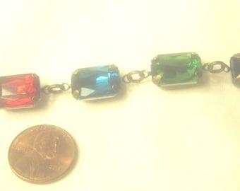 Bracelet, Multicolored Gem Bracelet, Gem Stone Jewelry, Multicolored Jewelry, Multicolored Accessories by Cindydidit