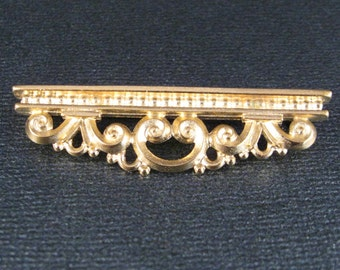 TierraCast Architectural Gold Plated Pin Perfect for Embellishment