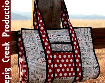 Sweet Retreat's Little Sister Tote Sewing Pattern