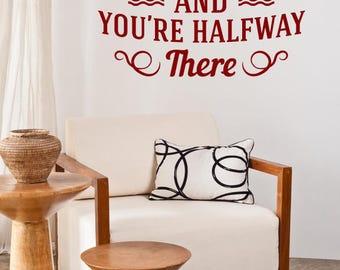 Believe Motivational Wall Sticker Quote