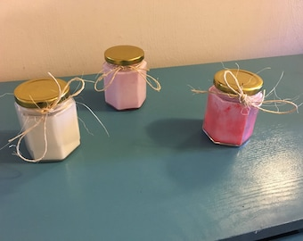 Soy wax wood wick lavender candles