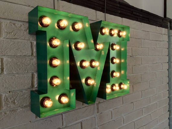 Lighted Wall Letters Enchanting Lighted Marquee Letters Lighted Wall Letter Marquee Light Review